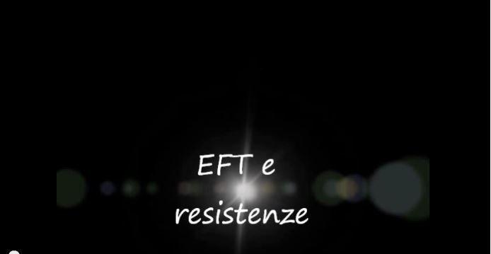 EFT e resistenze