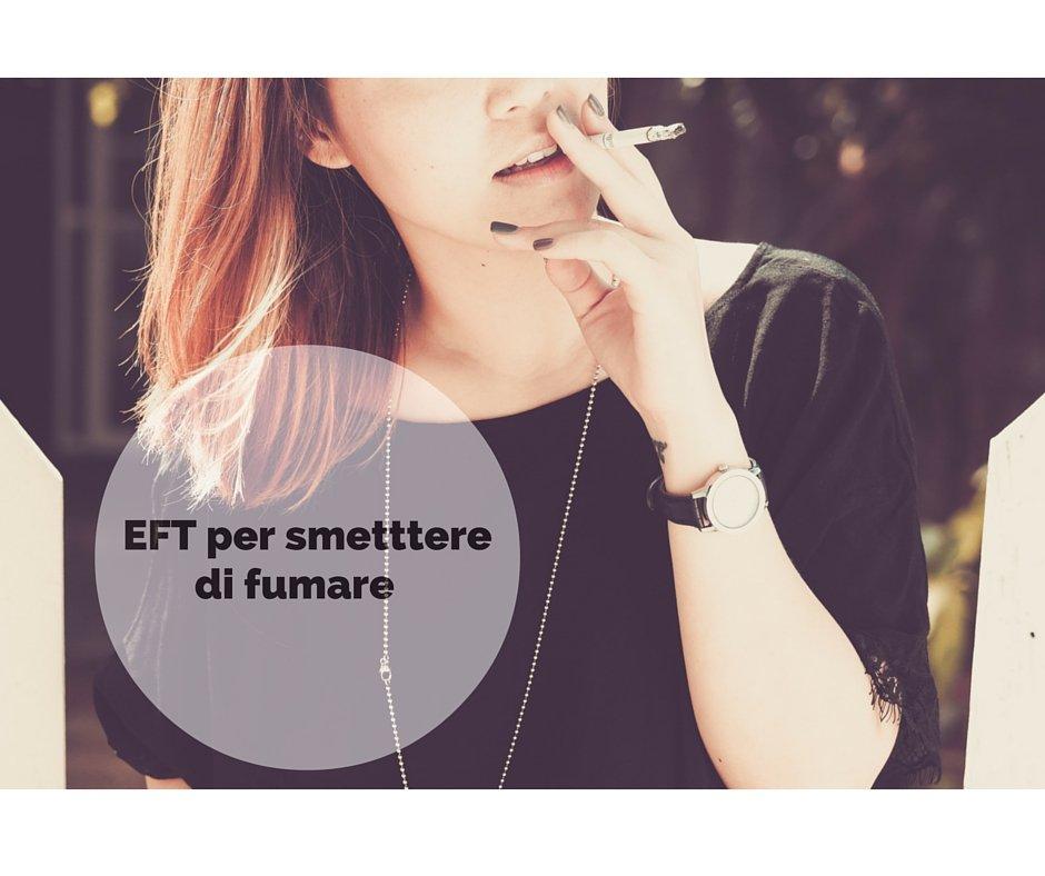 EFT per smettere di fumare