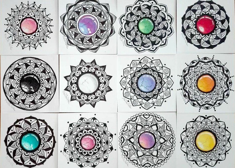 Mandala Gemme di Mathilda Stillday